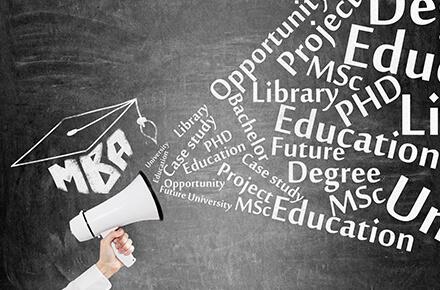 MBA取得のための研修